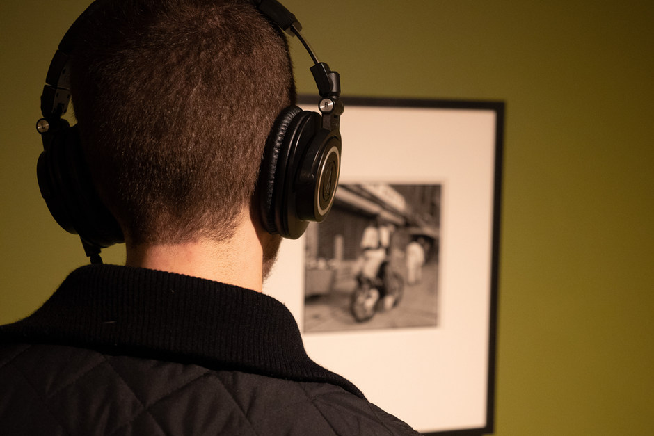 THE COLLECTION SPEAKS, audio tour and installation