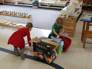 Montessori in the Home - Primary