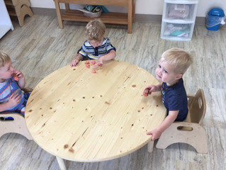 Montessori in the Home – Toddlers/Two's