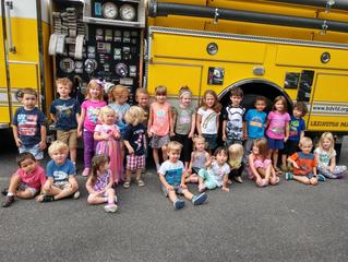 Bay District Volunteer Fire Department Visit