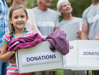 Bay Montessori's Houston Relief Donation Drive