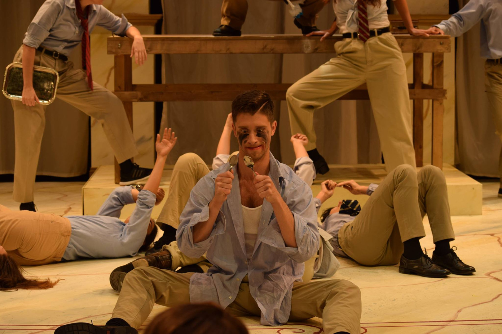 Ubu Rex Dir: Michael Yawney FIU Theatre PC: Ivan Lopez