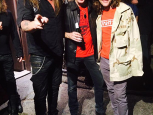 Bleeding Harp Members On Tour with Sebastian Bach