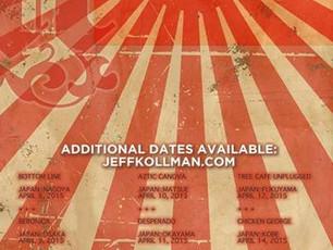 Jeff Kollman Band Japan tour - April 2015