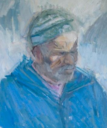 Man in a Blue Coat