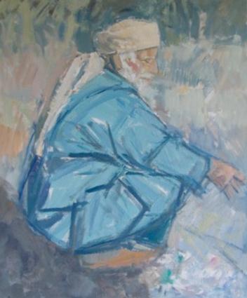 Squatting Berber