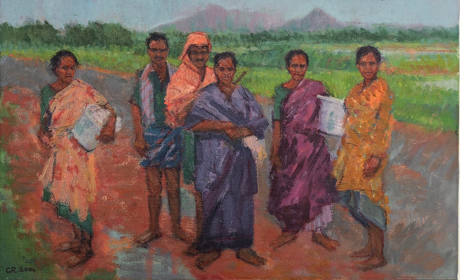 Family Group, Tamil Nadu