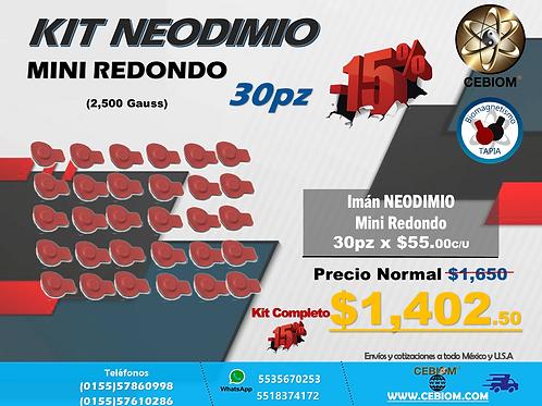 Kit Neodimio Mini 30pz