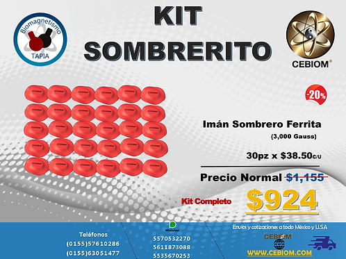 Kit Sombrerito Ferra