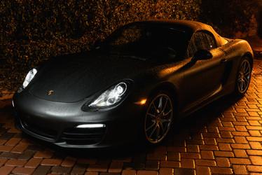 On set of YBN's Porsches In the Rain Music Video, Studio City, California