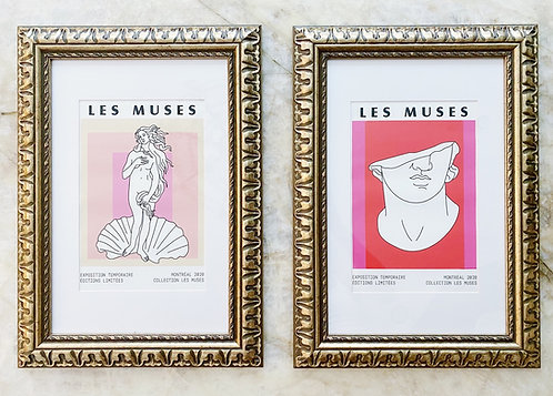 Les Muses Birth of Venus Art