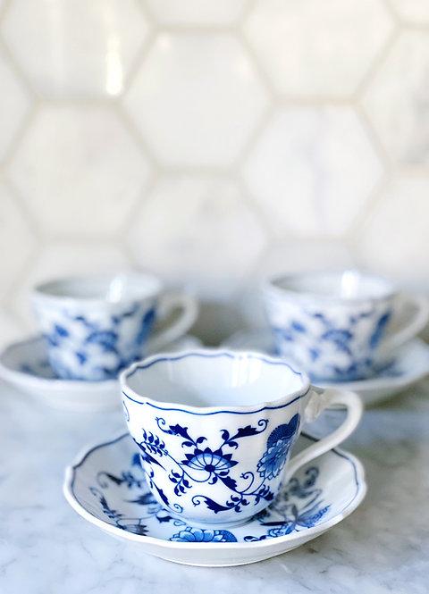 Blue Danube Cup & Saucer Set
