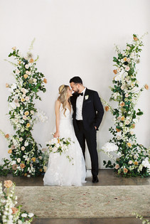Felicity Church, New Orleans, Wedding, Leaf + Petal NOLA, ceremony arch
