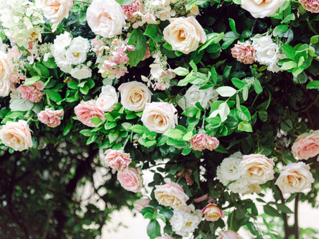 Ways to Use English Garden Wedding Flowers