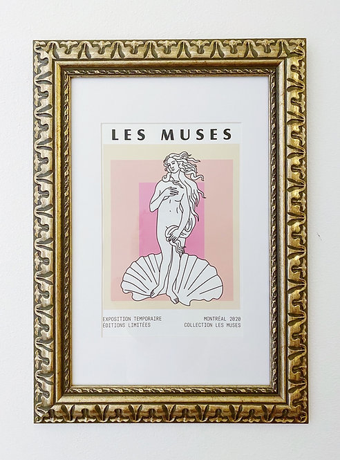 Les Muses Birth of Venus Art