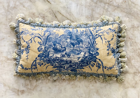 Custom Toile Pillow