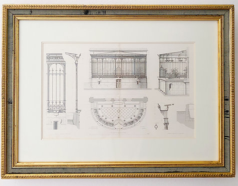 Vintage Ritz Carlton NOLA Wall Decor- Details Ci Dessus