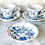 Thumbnail: Blue Danube Cup & Saucer Set