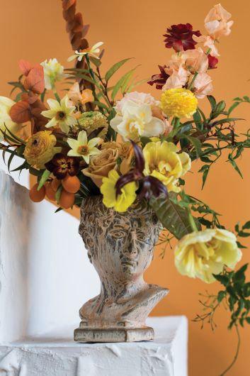 Roman Bust Vase