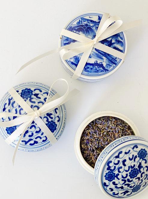Lavender filled Trinket Dish