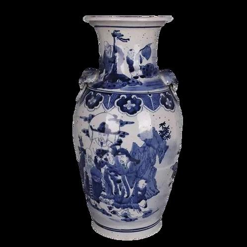 Large Chinoiserie Vase
