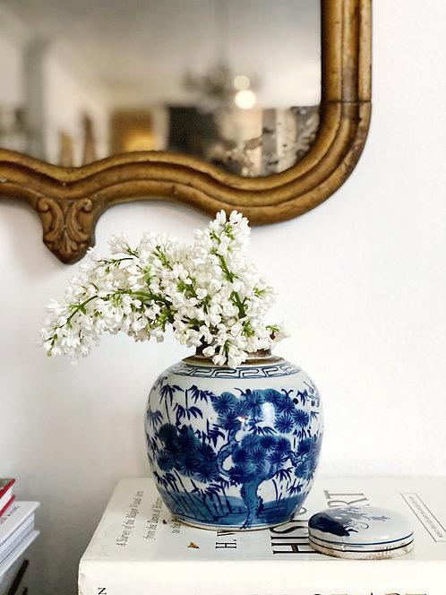 Blue & White Ginger Jar