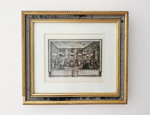 Vintage Ritz Carlton NOLA Wall Decor- Monsieur de Villemorien