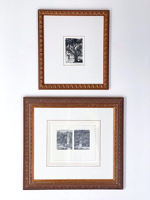 Set of Vintage Ritz Carlton NOLA Wall Decor