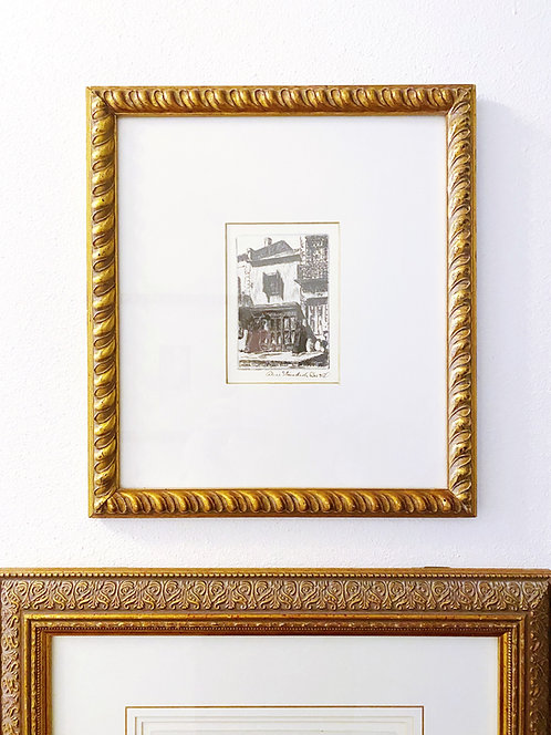Small Vintage Ritz Carlton NOLA Wall Decor- FQ Bookshop