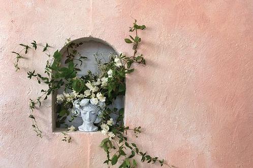 Grecian Goddess Bust Vase