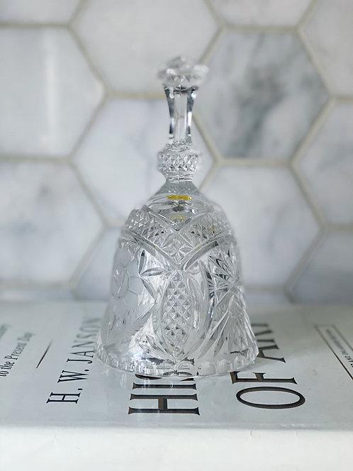 Hawkes American Brilliant Cut Glass Hand Bell