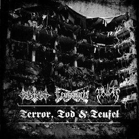 """BLUTKULT / FEUERNACHT / BLUTAAR """"Terror, Tod & Teufel"""""""