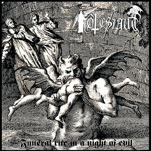 """TOTESLAUT """"Funeral rite in a night of evil"""" CD"""