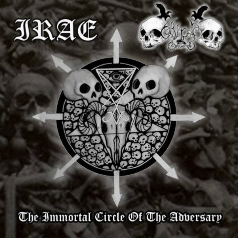 """IRAE / BLACK COMMAND """"The Immortal Circle of the Adversary"""""""