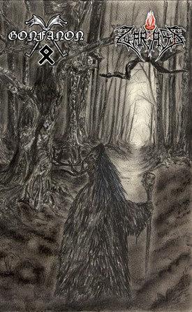 """GONFANON / ZUARASIZ """"Whispering Swords In The Forest's Darkness"""""""