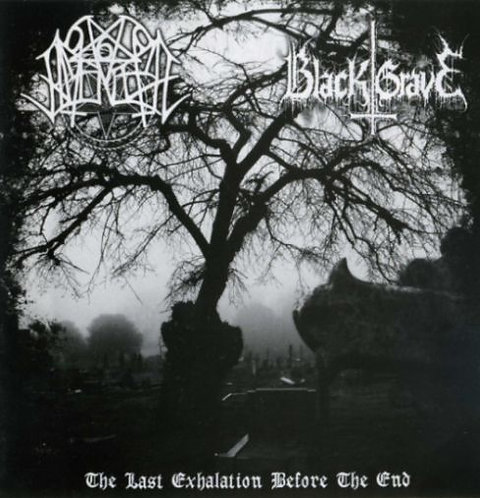"""NOCTURNAL AMENTIA / BLACK GRAVE """"The Last Exhalation Before the End"""""""