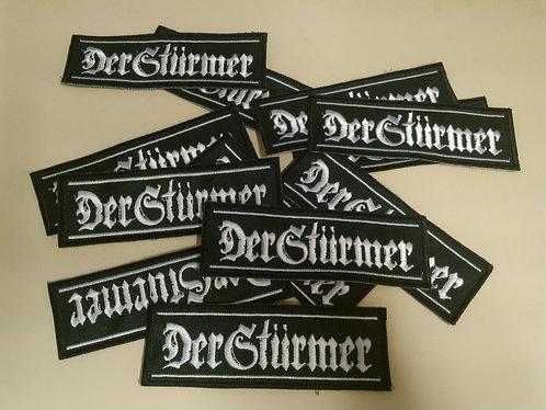 """DER STÜRMER """"logo"""""""