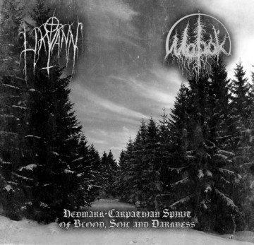 "LIKVANN / MOROK ""Hedmark-Carpathian Spirit of Blood, Soil and Darkness"""
