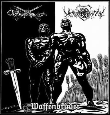"TOTENBURG / MENNESKERHAT ""Waffenbrüder"" (LP)"