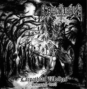 "GRAVELAND ""Carpathain Wolves - Rehearsal 1993"" (LP)"
