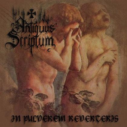 """ANTIQUUS SCRIPTUM """"In Pulverem Reverteris"""""""