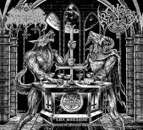 "SATANIC WARMASTER / ARCHGOAT ""Lux Satanae (Thirteen Hymns of Finnish Devil..."""