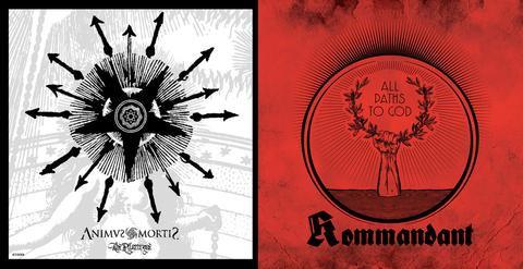 "ANIMUS MORTIS / KOMMANDANT ""All Paths To God / The Pilgrimage"""