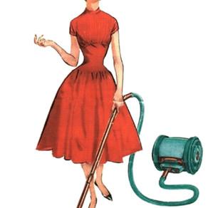 1950-tal. Den eleganta hemmafrun