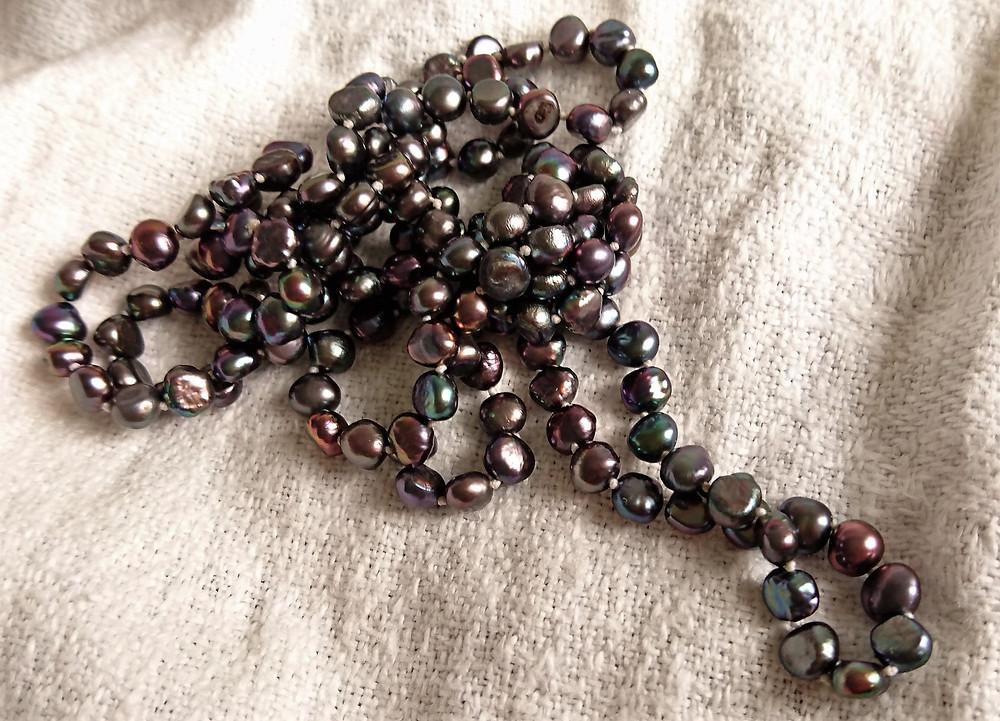 svarta pärlor