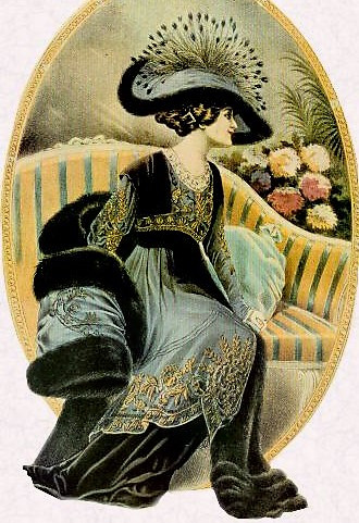 Edwardiansk lady, foto wikimedia commons