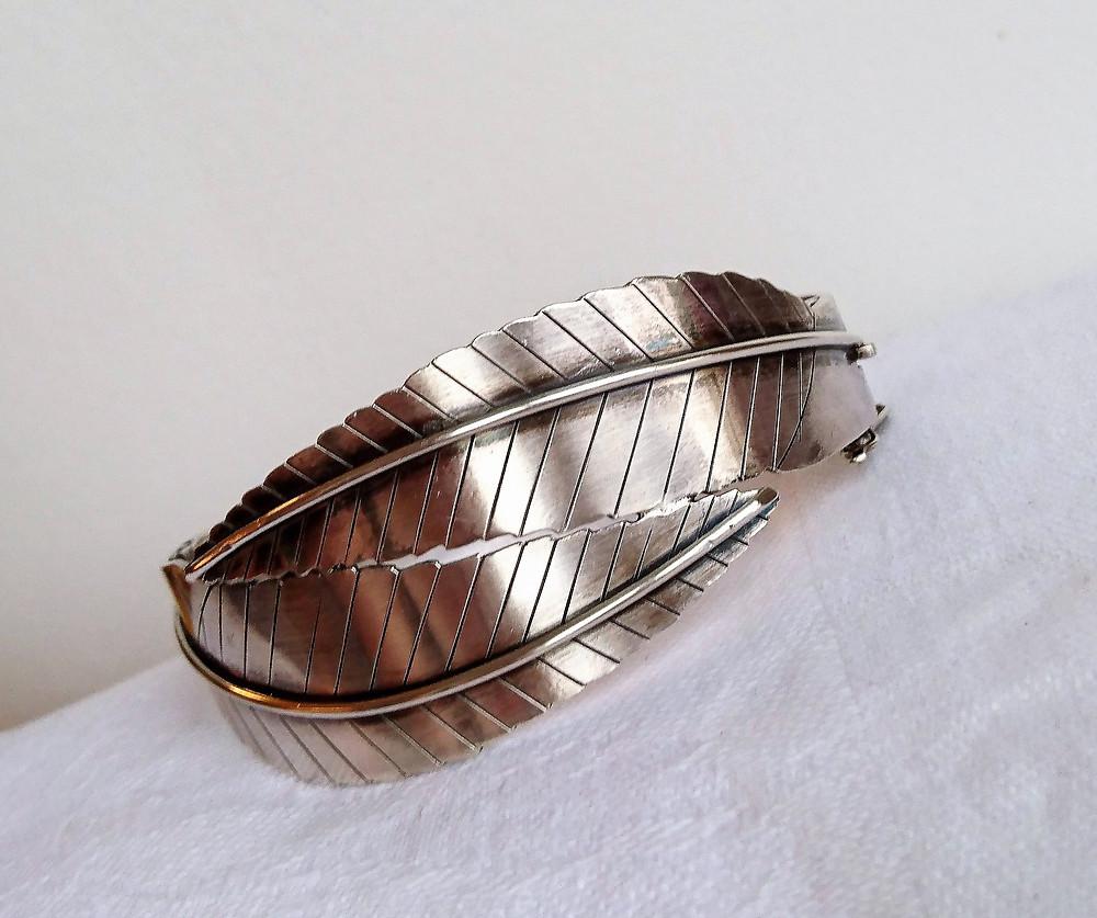 armband i silver från Golde Kaplan