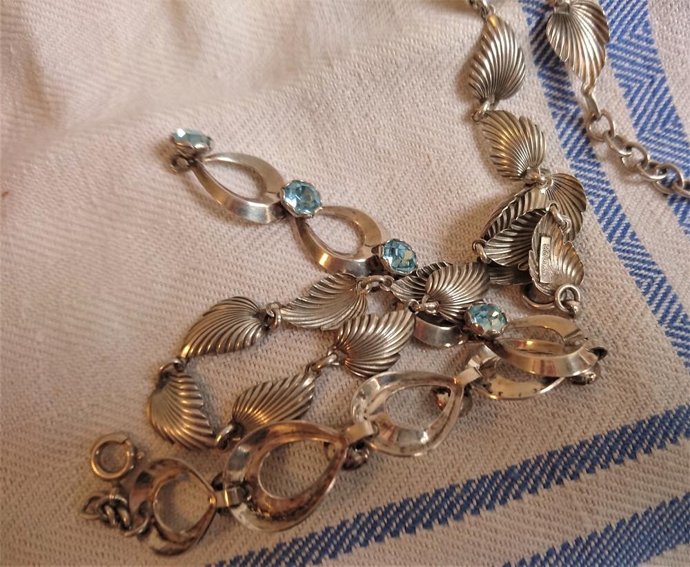 silversmycken från omkring 1960