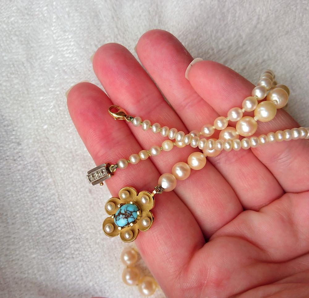 äkta pärlor