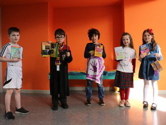 World Book Day Characters 2019 in First Class